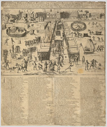 A Wonderful Fair or a Fair of Wonders. A new and true illustration of and Description of the Several things Acted and Done on the River of Thames, in the time of the terrible frost, December 1684